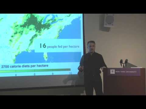 Educating for Sustainability Lecture: Jonathan Foley