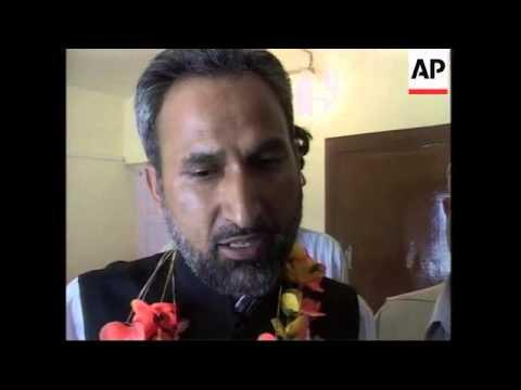 WRAP Funeral of minister, aftermath Kashmir violence