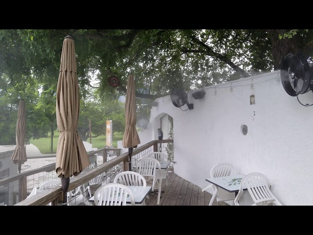 Mist Cooling Commercial Installation @ El Alma (patio)