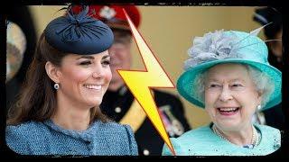 Kate Middleton paresseuse ? La reine Elizabeth II agacée !