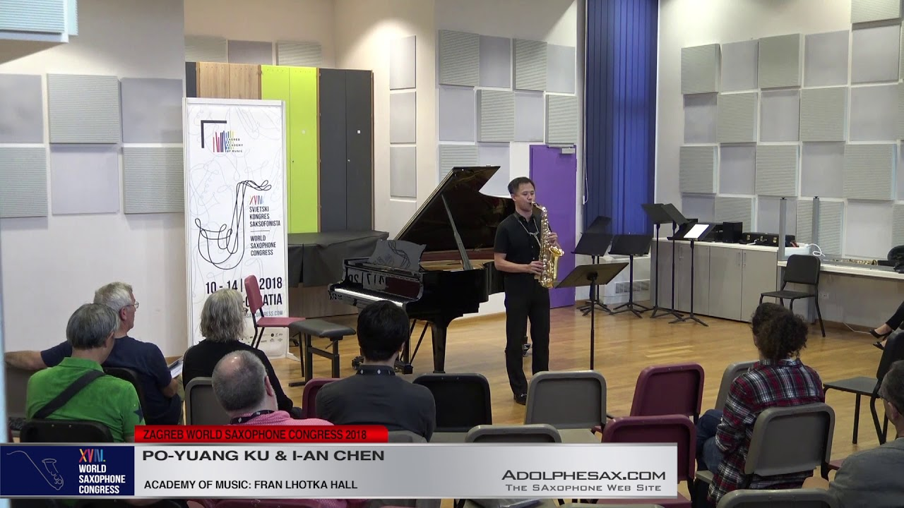 Petite Partita by Michael Sidney Timpson  Po Yuang Ku & I An Chen   XVIII World Sax Congress 2018 #a
