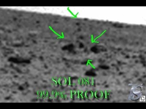 "SOL 081 MARS CURIOSITY ANOMALIES - "" Giant Statue  "" 99.9% PROOF"