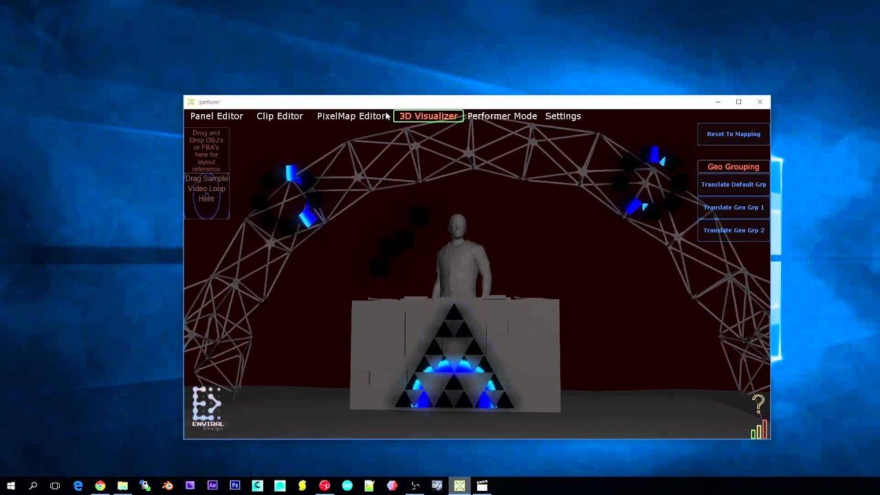 GeoPix LED Pixel Mapping Software Walkthrough (EAR