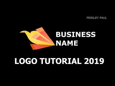 Quick Logo Design Tutorial  Bird thumbnail