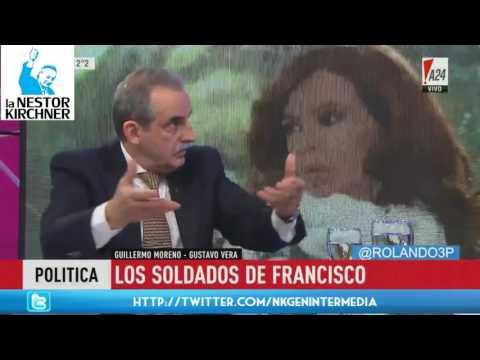 Guillermo Moreno y Gustavo Vera en A 24 02/06/17 Completo