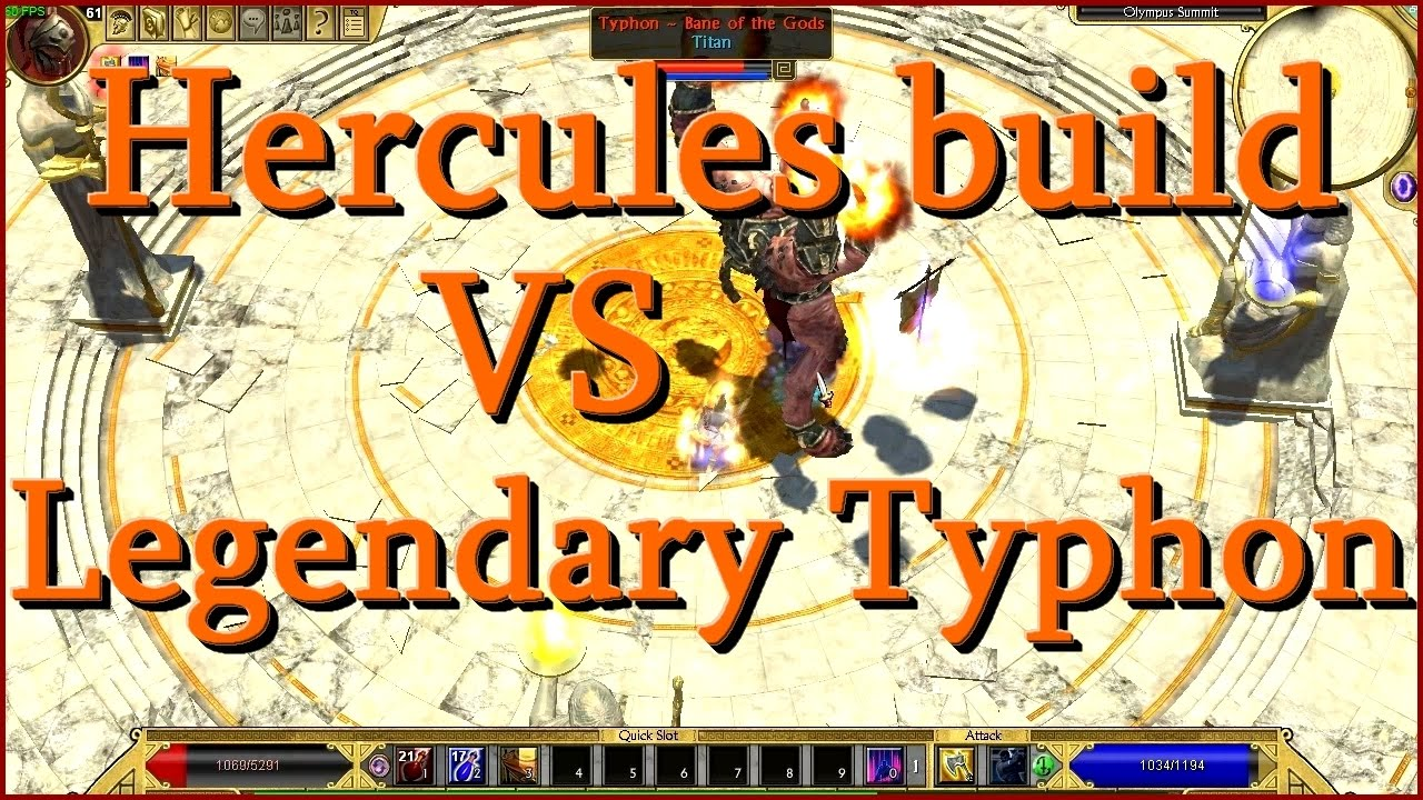 Titan Quest Legendary Build