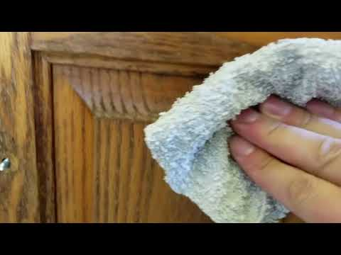 DIY: How Restore Wood Cabinet Finishes!