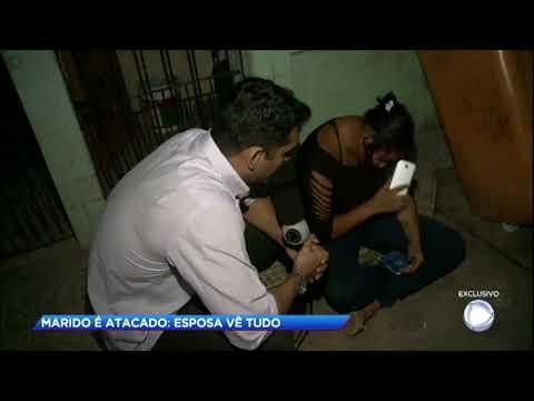 Mulher vê o marido ser atacado por atiradores misteriosos no Pará