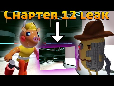 Leak Chapter 12 Piggy Roblox Skins Piggy Chapter 12 Skin Mr Bull Y Mr P Leaks Oficial Roblox Youtube