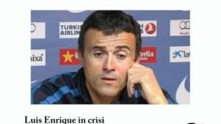 Luis Enrique in crisi