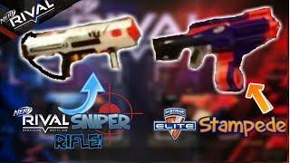 NERF NEWS: 2018 RIVAL Sniper Rifle, Elite Stampede 2.0, ALL 2018 Guns LEAKED?