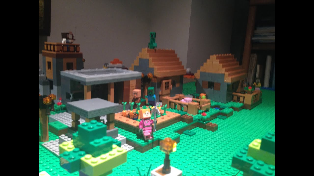 Lego minecraft custom world 2 youtube for Lego world craft