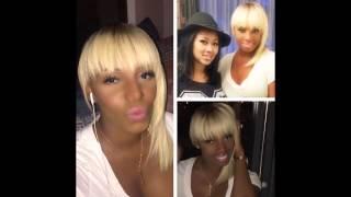 NeNe Leakes makeover! New Blonde wig! BYE! #NENE #neneleakes #rhoa #rhoatl #therealhousewivesofatlan