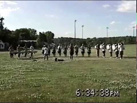 Early Season 1997 Cavaliers Drum and Bugle Corps in Bellevue, NE