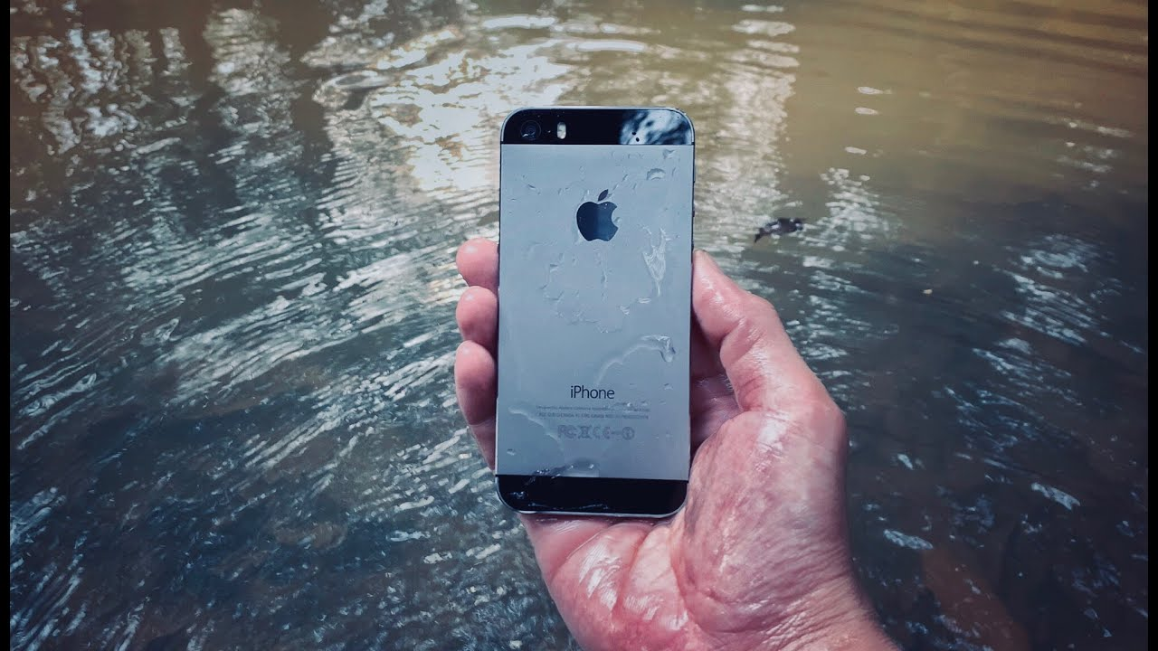 Found Apple iPhone 5s in River | Restoration iPhone 5s Apple Mobile Phone