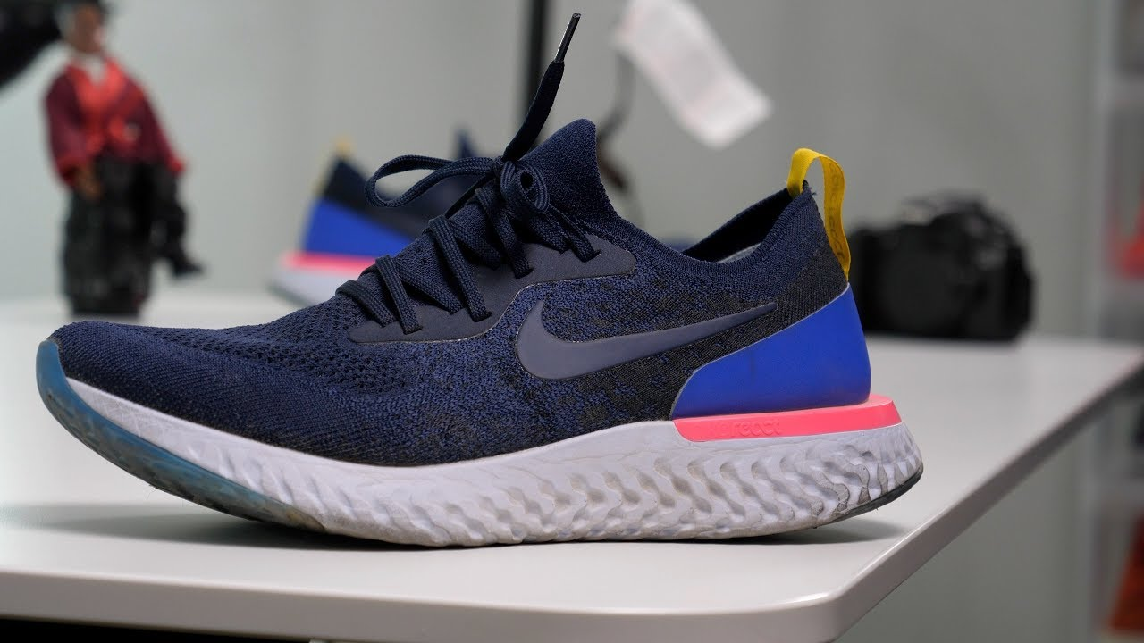 2e9de80b4ae36 NIKE Epic REACT Flyknit SNEAKER Review  Is It REALLY Better THAN ...
