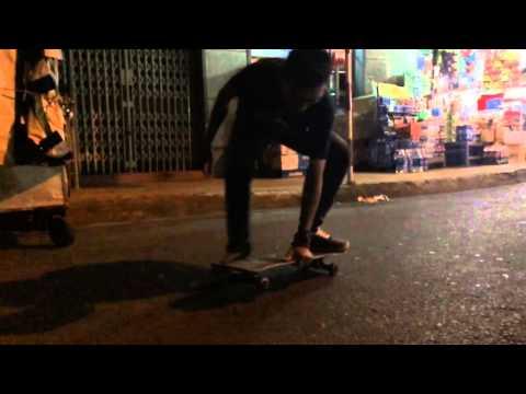 Vietnam Skate Slow Motion IPhone 5s