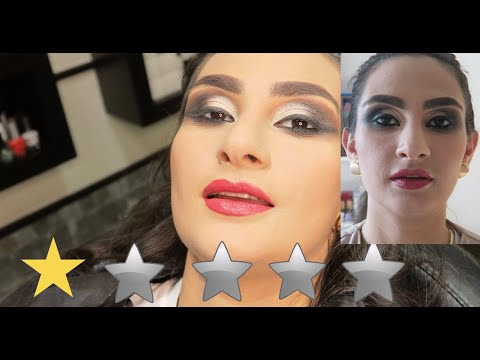 I WENT TO THE WORST REVIEWED MAKEUP ARTIST IN ANOTHER CITY !