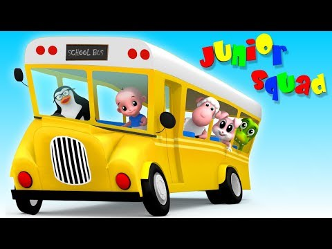 🔴 Kindergarten Songs And Videos For Babies | Junior Squad Cartoons