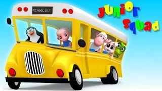 🔴 Kindergarten Songs And Videos For Babies   Junior Squad Cartoons