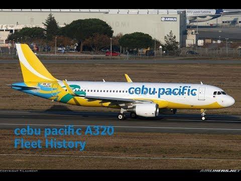 Cebu Pacific Airbus A320 Fleet History (2005-Present)