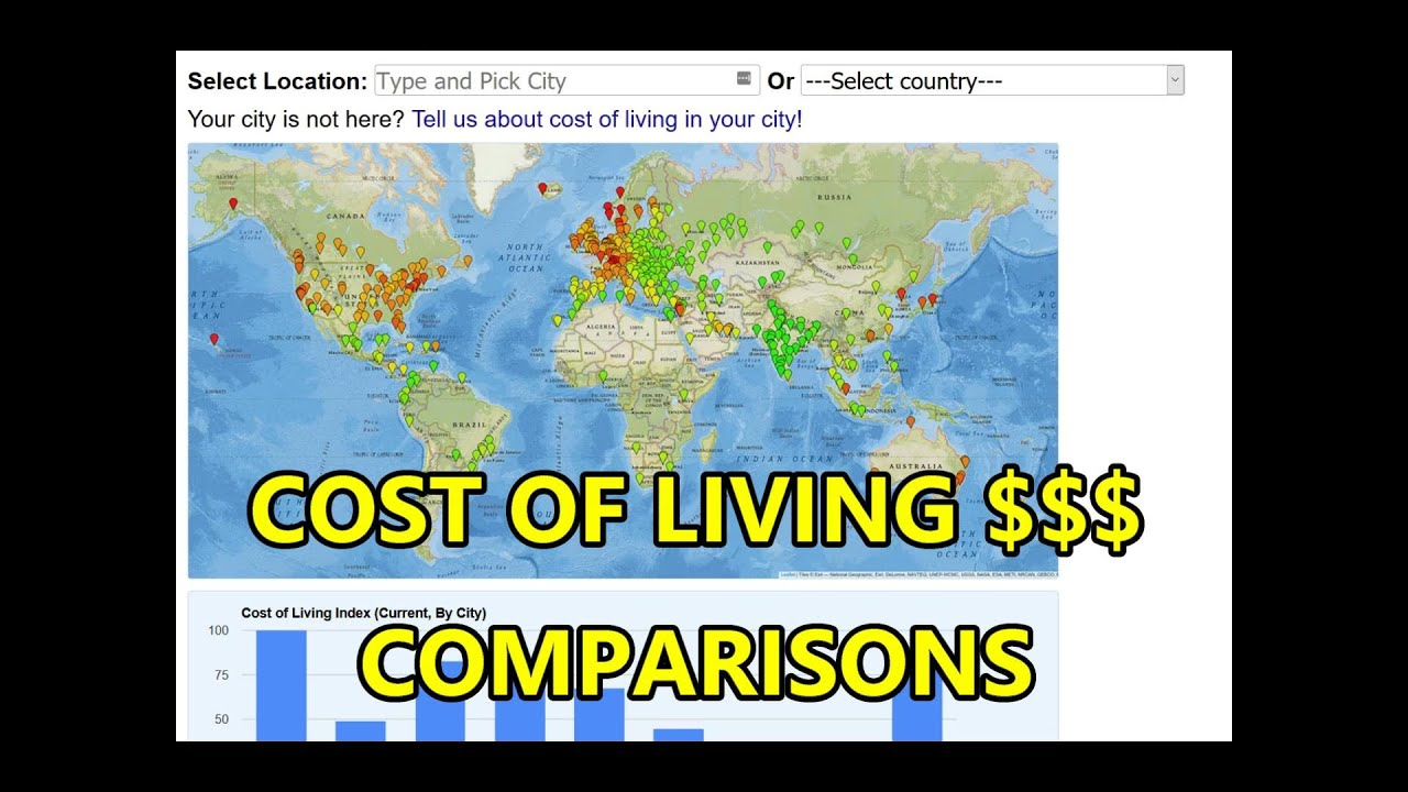 COST OF LIVING COMPARISIONS, PHILIPPINES & SE ASIA