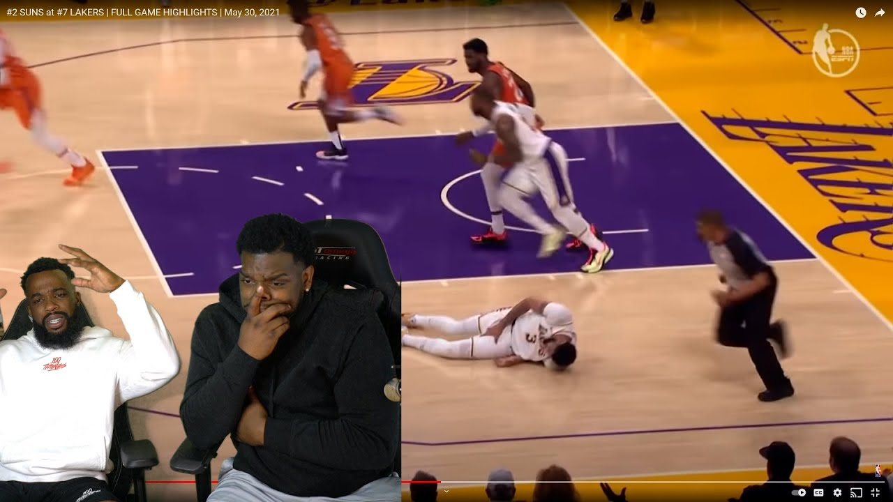 LAKERS VS SUNS GAME 4 REACTION