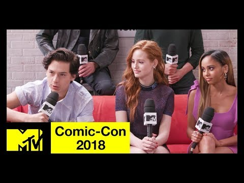 Riverdale Cast on Season 3, Character Deaths & More! | Comic-Con 2018 | MTV