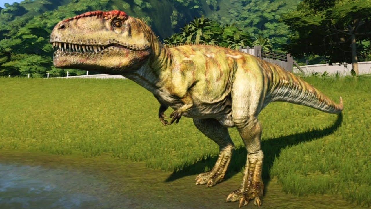 jurassic world evolution giganotosaurus gameplay ps4 hd