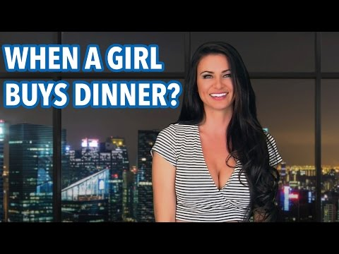 What Does it Mean When a Girl Buys Dinner  April Rose Files