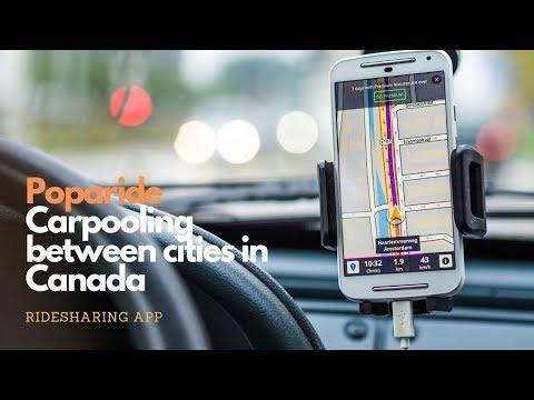 Poparide Carpooling Between Cities In Canada Ridesharing