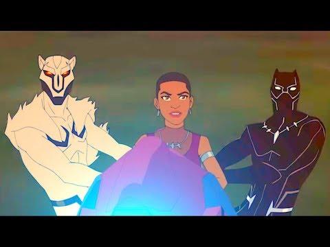 MARVEL   Мстители: Миссия Чёрной пантеры   Серия 4 Сезон 5 - Пантера и Волк