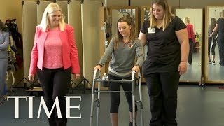 How A Breakthrough Therapy Helped Two Paralyzed People Walk Again—Years After Their Injuries | TIME