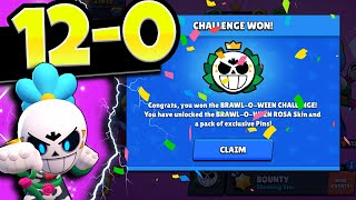 Full 12 Win Brawloween Challenge | All Gameplay No Editing | Ft SpenLC and Symantec