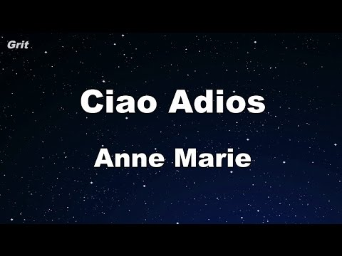 Ciao Adios - Anne-Marie Karaoke 【No Guide Melody】 Instrumental