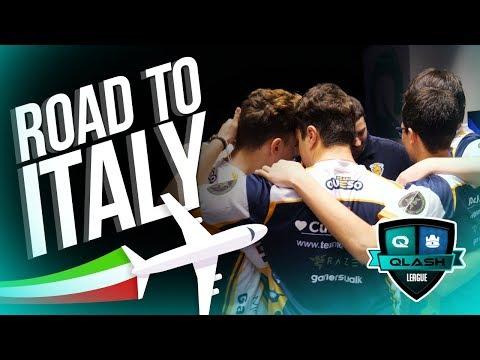 Camino hacía Italia - La historia de una final (QLASH League)