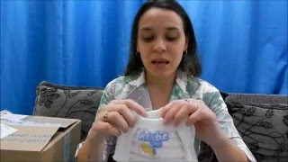 Fralda Baby Bee Free - Teste de absorção!