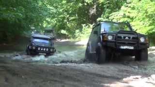 4X4 Zachodniopomorski offroad Nissan Patrol GR Y60 Off Road Poligon Drawski