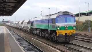 59002 with Whatley to Dagenham loaded stone train. 4/11/2015