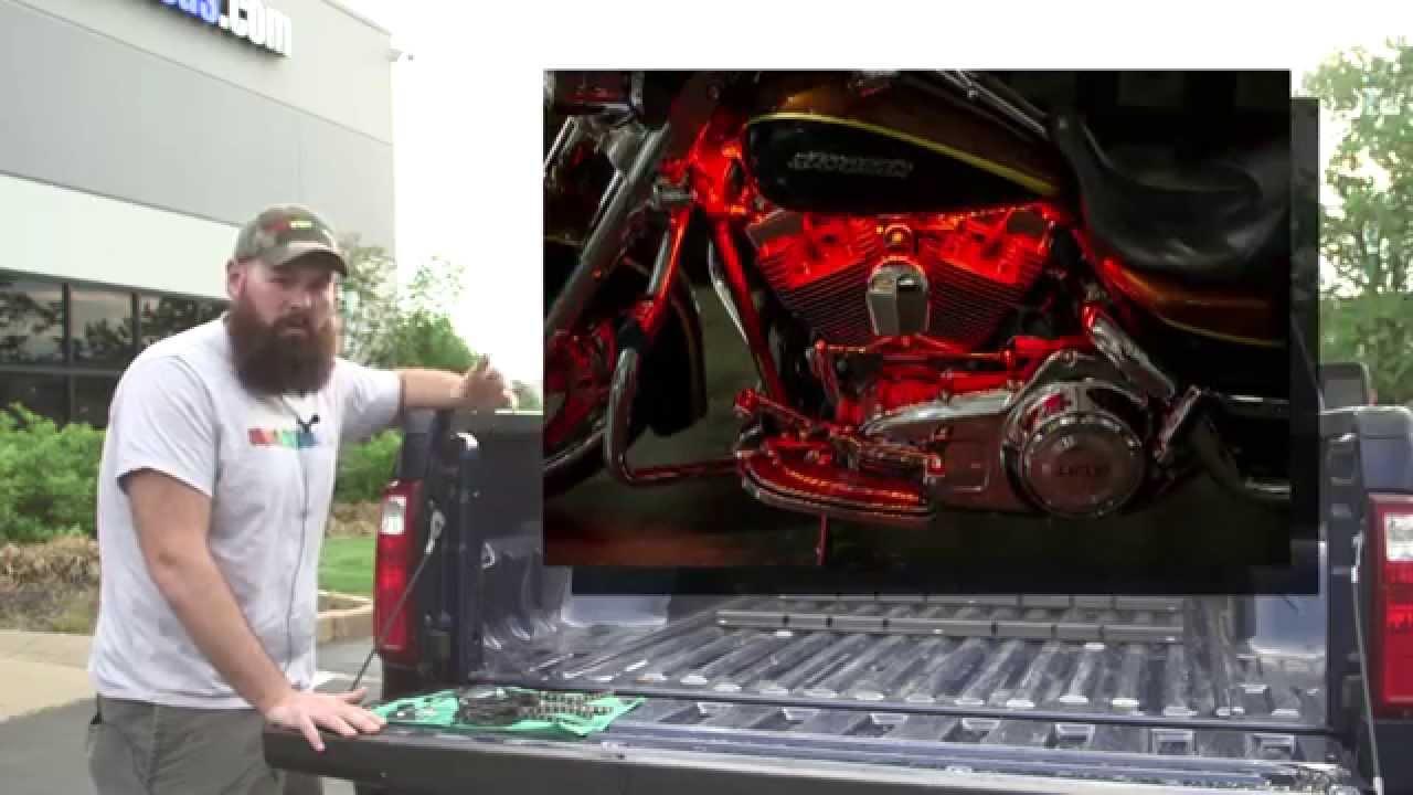 How to install truck bed led light kit - YouTube