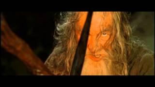 Le Seigneur des Anneaux : La Communauté de l'Anneau - Gandalf conter le Balrog de Morgoth