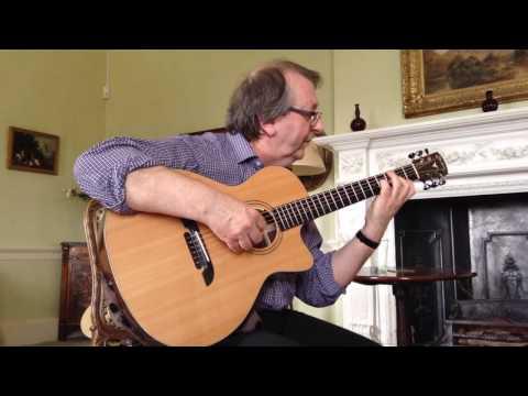 steve hicks plays marionette on his k yairi signature model guitar
