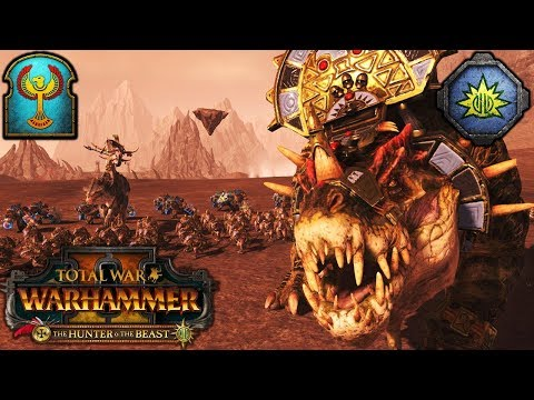 HUNTING DREAD SAURIANS - The Hunter And The Beast DLC - Total War Warhammer 2