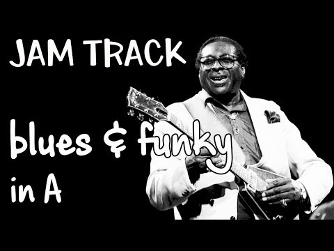 Bluesy Groove Blues Backing Track Jam In A