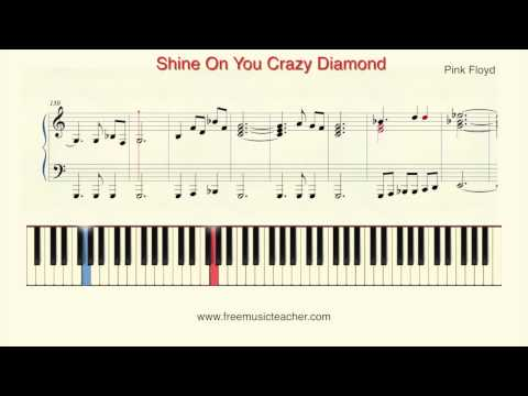 How To Play Piano: Pink Floyd 'Shine On You Crazy Diamond