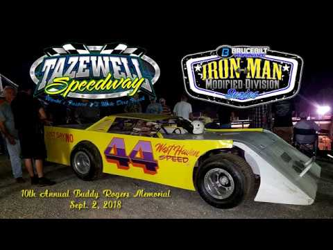 Iron Man Modifieds @ Tazewell Speedway Sept  2, 2018