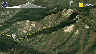 천마산 등산 어메이즈핏 GPX3D지도 파일로 Reliv…