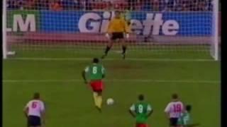 World Cup 1990 Italia 90 England v Cameroon (1)
