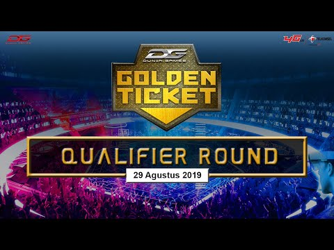 Dunia Games Golden Ticket Area 3 - 29 Agustus 2019
