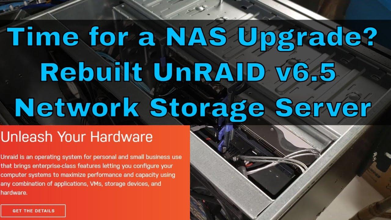Custom UnRAID storage Server upgrade by SamsTechStuff